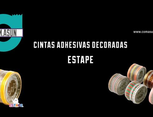 Video Cintas Adhesivas decoradas – Estape